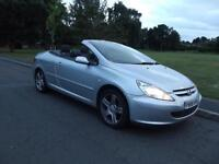 Peugeot 307 CC 2.0 16v 180 Coupe 2005 LOW MILES, ONLY 48K, 1/2 LEATHER, NICE CAR