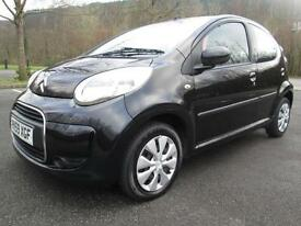 09/59 CITROEN C1 1.4 HDI VTR 5DR HATCH IN BLACK WITH ONLY 61,000 MILES