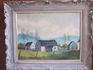 Peinture de A.R. :Lemieux