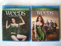 Weeds seasons 5, 6, 7 & 8 on Blu-Ray
