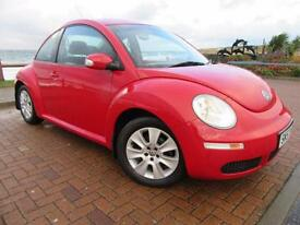VW Beetle 1.4 Luna 08 Low Miles Warranted 40k FSH 6 Stamps MoT 21 11 17 2 Keys