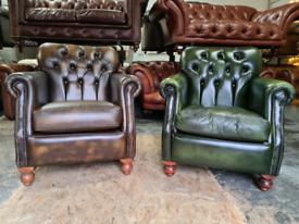 Thomas Lloyd Chesterfield Victoria Chairs