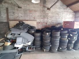 Part work tyre job lot