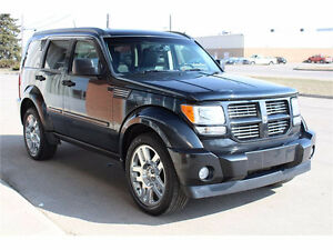 2008 Dodge Nitro Black SUV, Crossover