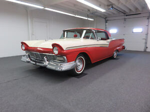 1957 FORD FAIRLANE 500 SKYLINER RETRACTABLE CONVERTIBLE