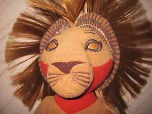 Lion King musical plush box 52