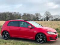 2014 [14] VOLKSWAGEN GOLF 2.0 GTD DSG [184] AUTO RED 5DR EVERY EXTRA