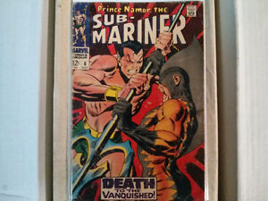 Prince Namor, The Sub-Mariner comic # 6 $10
