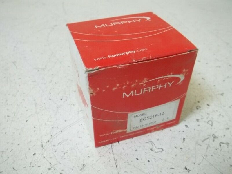 MURPHY EGS21F-12 ELECTRIC FUEL SWICHGAGE * NEW IN BOX *