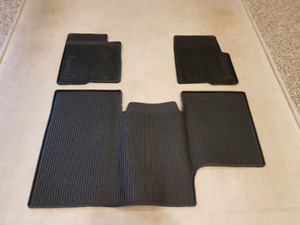 2012 Ford F150 Factory Rubber Floor Mats