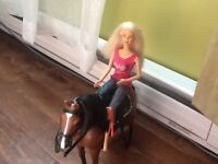 Barbie et cheval