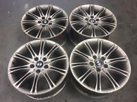 "BMW MV2 18"" wheels 5x120 8j et20, e46 e36 drift"