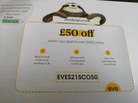 Free Evesleep voucher code
