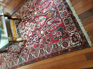 Antique Persian Rugs- 4 Never used and 1 used rarely