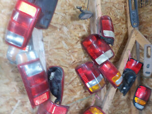 tail lights and headlights assembly's $50 each