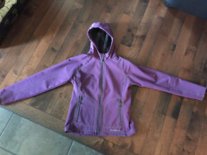 Woman's small purple wind river spring/fall jacket/coat