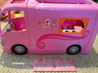 Barbie Camper and accessories