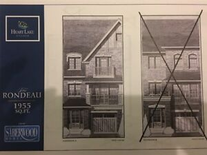 """""""Discount Assignment"""" FREEHOLD Townhome Heart Lake by Saberwood"""