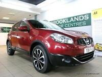 Nissan Qashqai 2.0 DCI N-TEC 4WD Auto [SAT NAV, PANORAMIC ROOF and REVERSE CAMER