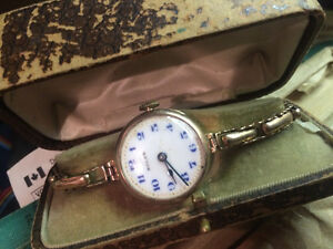 antique womens gold rolex (100 years old)