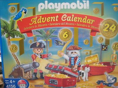 PLAYMOBIL PIRATES Advent Calendar Toy 115 Piece #4156