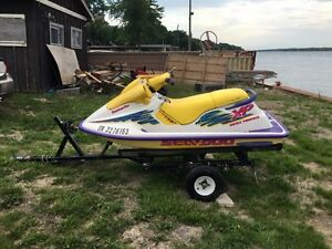 1995 Seadoo XP with Trailer and Cover