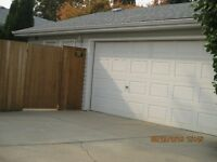 - GARAGE SPACE AVAILABLE -