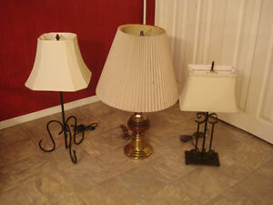 3 Lamps (All for  $20)