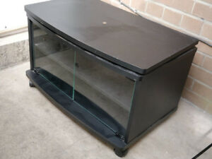 TV Stand with wheels and rotating platform