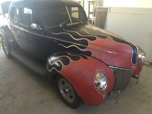 40 Ford Opera Coupe HotRod