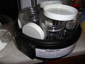 Waring Pro Professional Yogurt Maker with instruction booklet