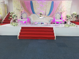Wedding & mendhi stage hire from £250