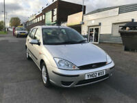 2002 FORD FOCUS 1.6i LX 5 DOOR HATCHBACK ( CHEAP PART EXCHANGE TO CLEAR )