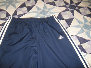 ADIDAS SPORTS PANTS WITH SIDE ZIPPERS ON BOTTOM OF LEG SIZE LARS Kingston Kingston Area image 2