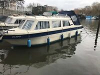 Viking23 licensed with mooring £12500ono live aboard, narrowboat, canal river boat, cabin cruiser