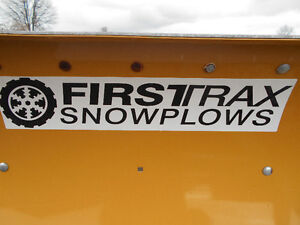 SNOW PLOW (FIRSTRAX 7FT SNOW PLOW WITH DEFLECTOR)
