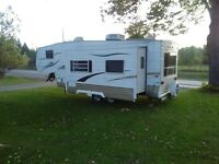 24 ft conquest fifth wheel trailer