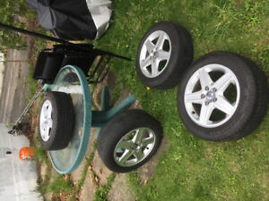 Volvo rim and tire for sale