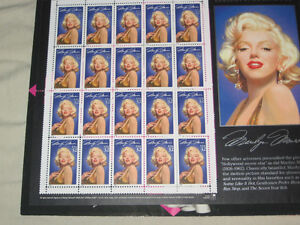 USA Stamps of Marilyn Monroe