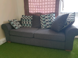 3 Seater scatter cushion sofa
