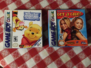 2 Game Boy Color Games