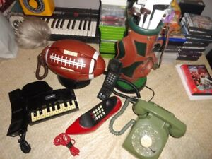 5 Different Telephones - All Working Great!
