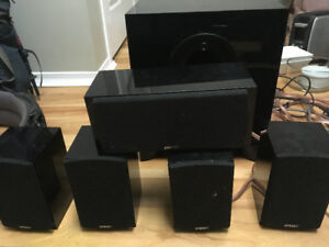 Energy 5.1 sound system with bass