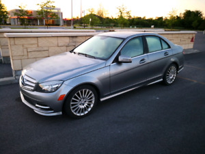Mercedes C250 4matic sport package