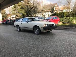 1979 Toyota Celica (Supra) 5sp manual rare