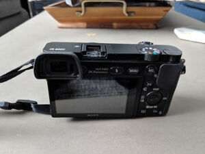 Sony a6000 Camera Body with Spare Batteries