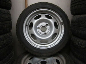Smart Car Snows Rims & Tires