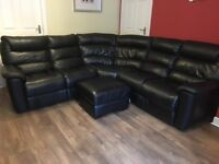 CORNER SOFA - with ELECTRIC Recliner ends