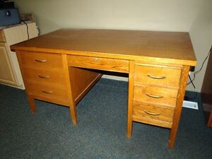 Antique Teacher's / Secretary's Desk