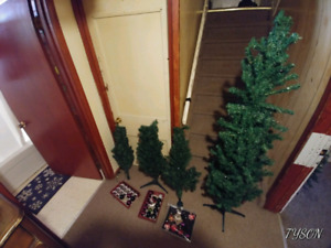 Assorted xmas trees